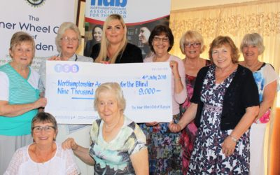 Inner Wheel Club of Rushden raises £9k!