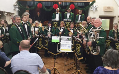 Rushden Town Band supports us this Christmas