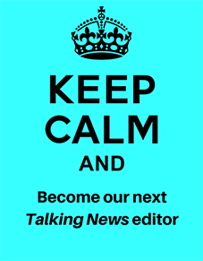 Could you be the next editor of Northamptonshire's leading Talking Newspaper?