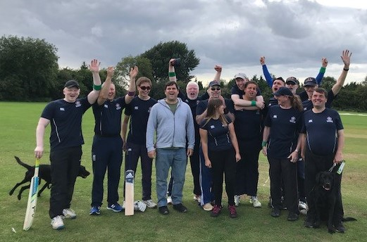 Northants Visually Impaired cricket team win National League title!