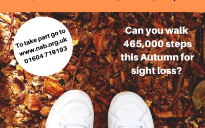 Could you walk 465,000 steps for Sight Loss?