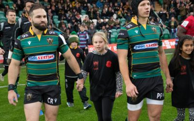 Young NAB supporters step out with the Saints for Sight Loss