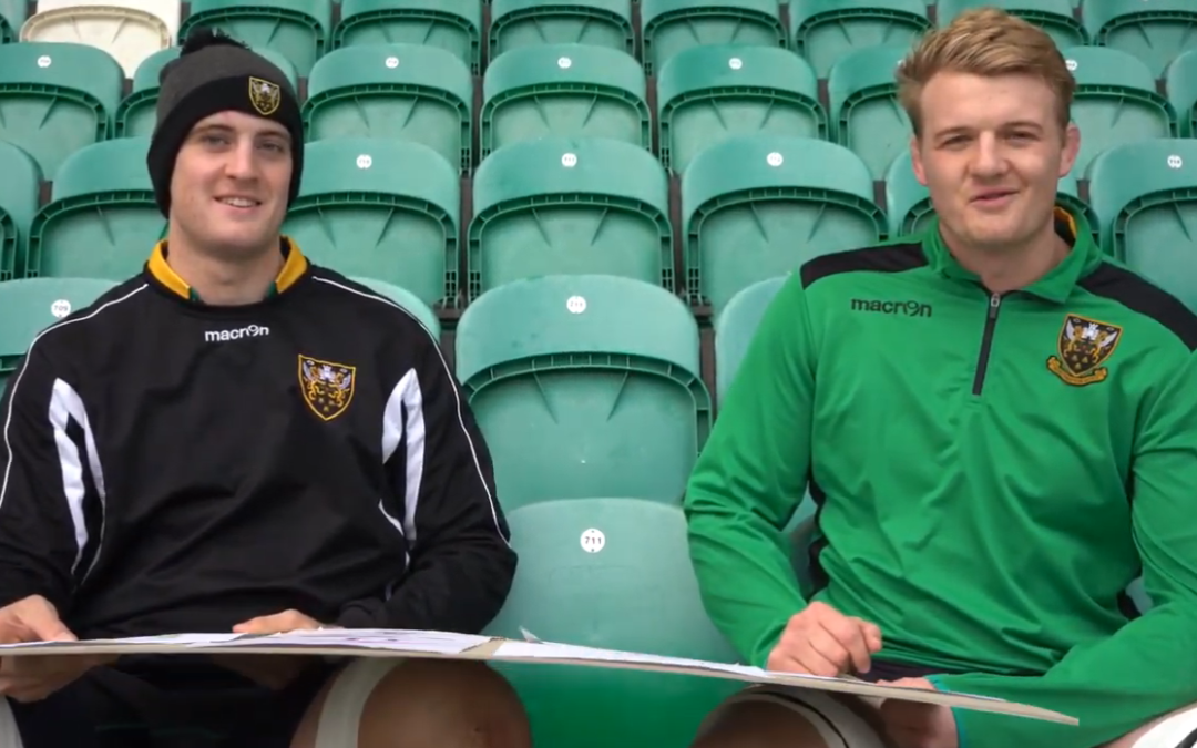 Eye Superheros judged by Northampton Saints Rugby players
